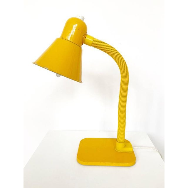 French Yellow Desk Lamp - Image 2 of 10