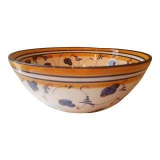 Spanish Hand Painted Bowl For Sale