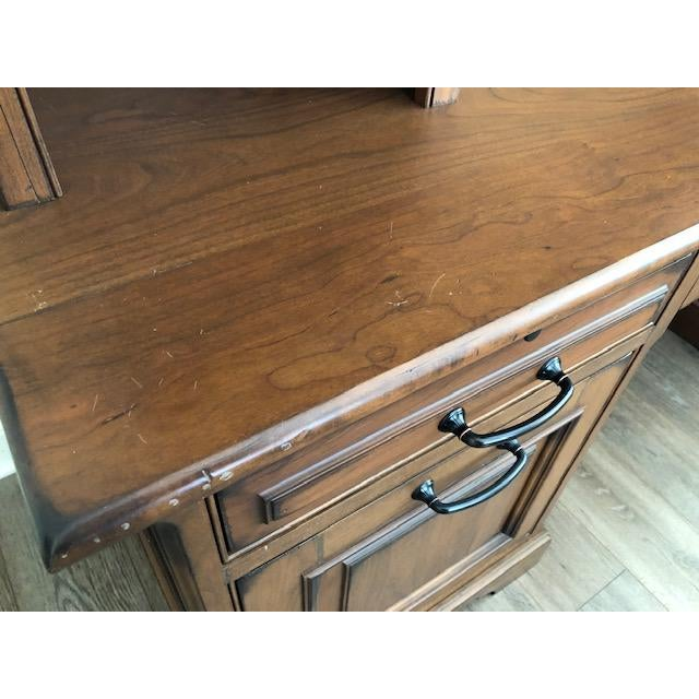 Custom Built Desk With Storage Cabinetry For Sale - Image 9 of 12