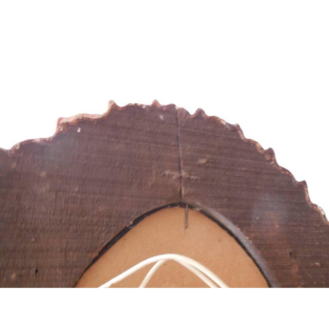 French Gold Gilt Wood Starburst Sunburst Mirror For Sale - Image 10 of 11