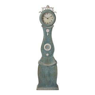 Swedish Painted Mora Clock For Sale