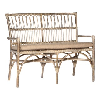 Bamboo Entry Bench