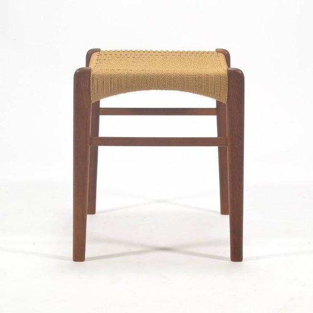 Peder Kristensen Teak Stool by Glyngore Stolefabrik For Sale In Chicago - Image 6 of 9