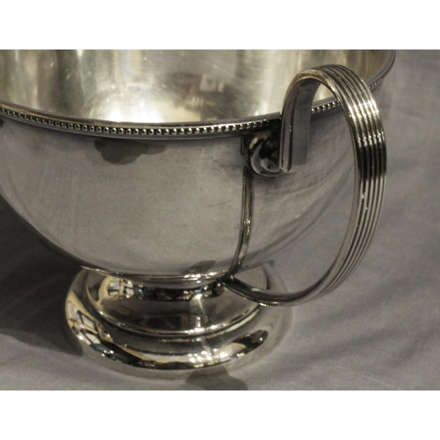 Mid 20th Century Goldsmiths & Silversmiths LTD Silver English Soup Tureen For Sale - Image 5 of 8