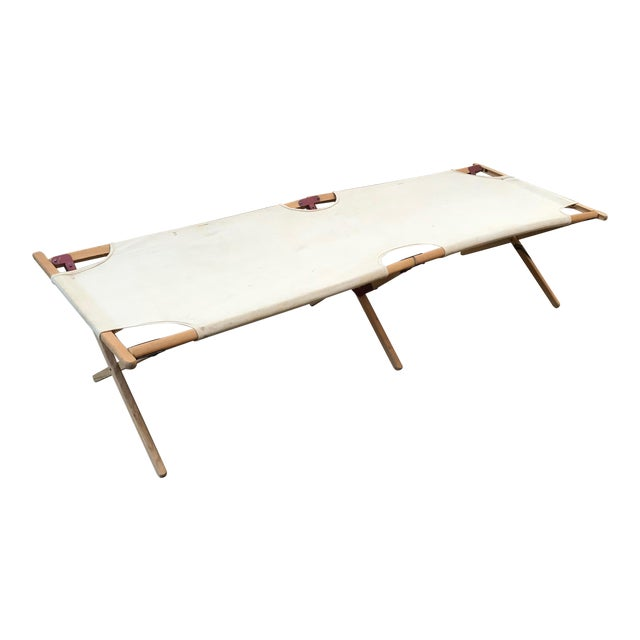 Vintage Collapsible Camping Cot For Sale