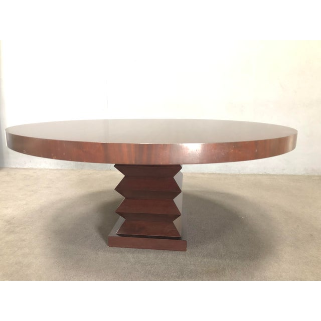 """Michael Berman """"Lombard"""" Dining Table For Sale In Los Angeles - Image 6 of 10"""