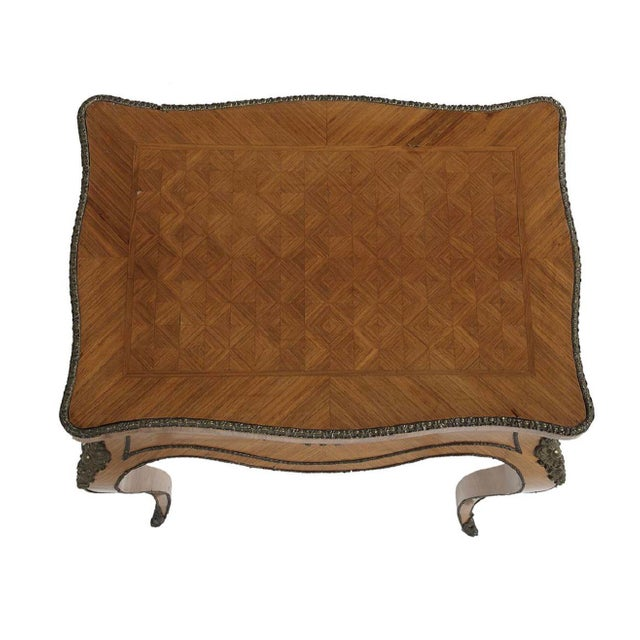 Louis XV 19th Century Louis XV Tahan Kingwood Work Table For Sale - Image 3 of 5