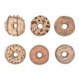 Image of Surface Ceramics Wall Donuts - Set of 6 For Sale
