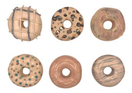 Image of Newly Made Sculptural Wall Objects