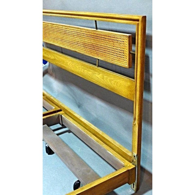 Mid-Century Modern Mid-Century Modern King Sized Bed For Sale - Image 3 of 6