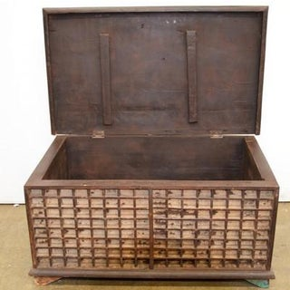 Antique Indian Wooden Trunk Preview