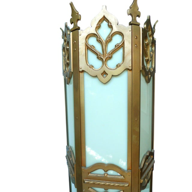 Large Cathedral-Style Lantern - Image 2 of 2