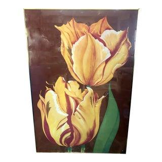 Lowell Nesbitt Tulip Lithograph For Sale