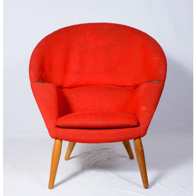 """Contemporary Nanna Ditzel """"Oda"""" Lounge Chair For Sale - Image 3 of 9"""