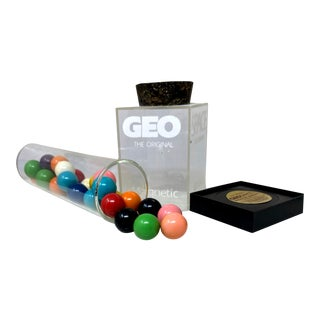 Vintage Nasa GeoSpace Marbles Game | Gift Ideas For Sale