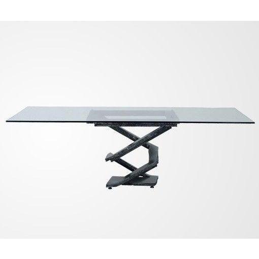 roche bobois fluer de fer dining table chairish. Black Bedroom Furniture Sets. Home Design Ideas
