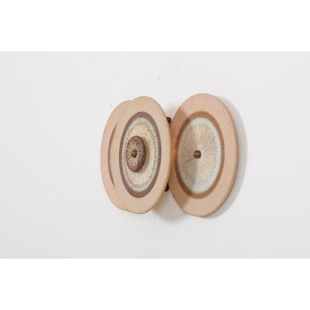 Mid-Century Modern Set of 15 Ceramic Wall Lights by Noomi Backhausen & Poul Brandborg for Søholm For Sale - Image 3 of 11