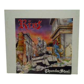 """Riot: Thunder Steel"" Album Poster For Sale"