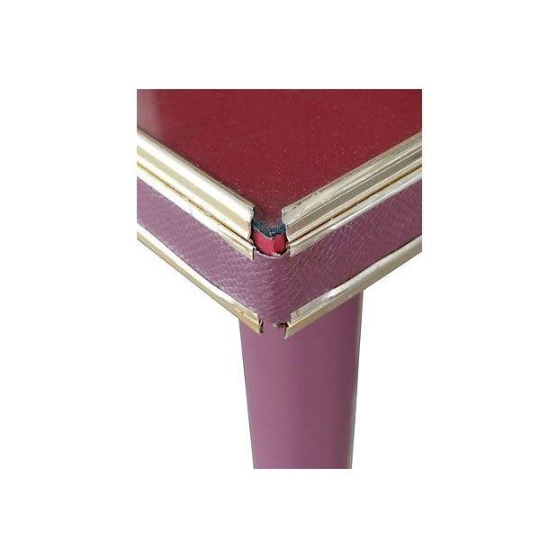 50's Umberto Mascagni Italian Card Table Set - Image 5 of 7