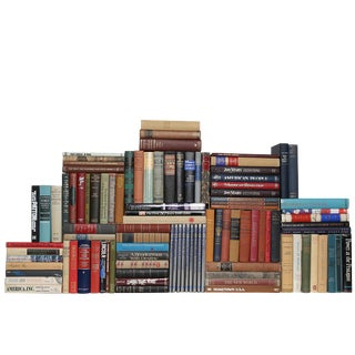 Curated Americana : Set of One Hundred Decorative Books