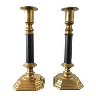 Vintage Candle Holders - A Pair