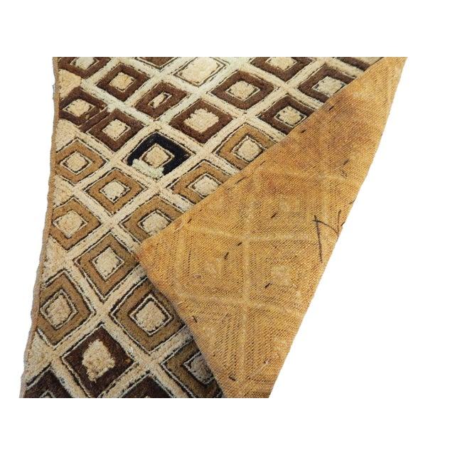 African Kuba Kasai Velvet Raffia Textile Zaire For Sale - Image 9 of 10