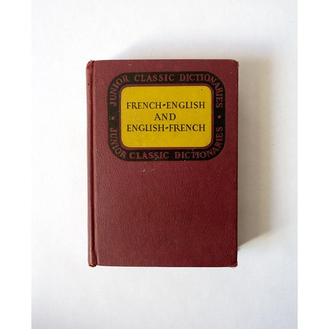 1940s Vintage French-English Dictionary For Sale - Image 11 of 11