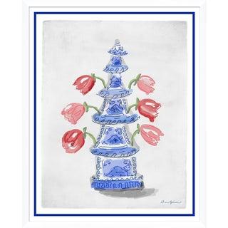"""Tulipierre"" By Dana Gibson, Framed Art Print For Sale"