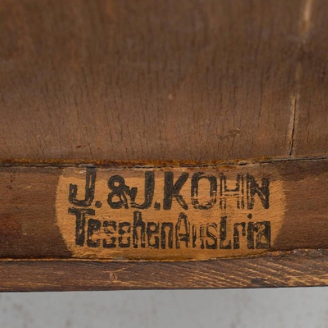 Early 20th Century Pair of Vienna Secession Armchair by Jakob & Josef Kohn, 1900s For Sale - Image 5 of 6