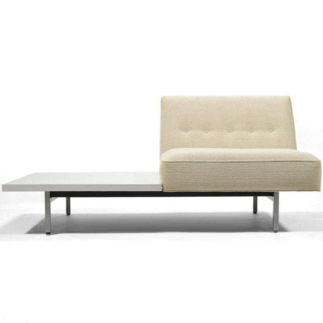 "The modular seating group was designed by the Nelson office in 1955. It is designed on a 30"" module and offered in a wide..."