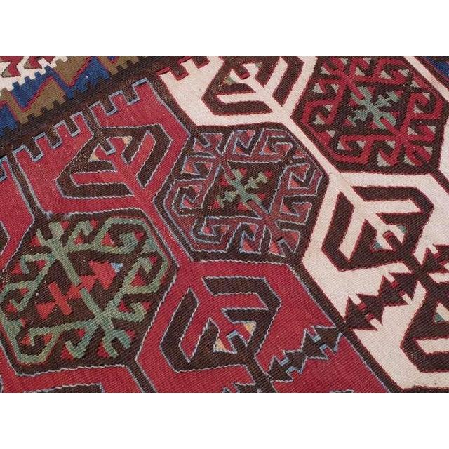 Textile Impressive Antique Konya Kilim For Sale - Image 7 of 8
