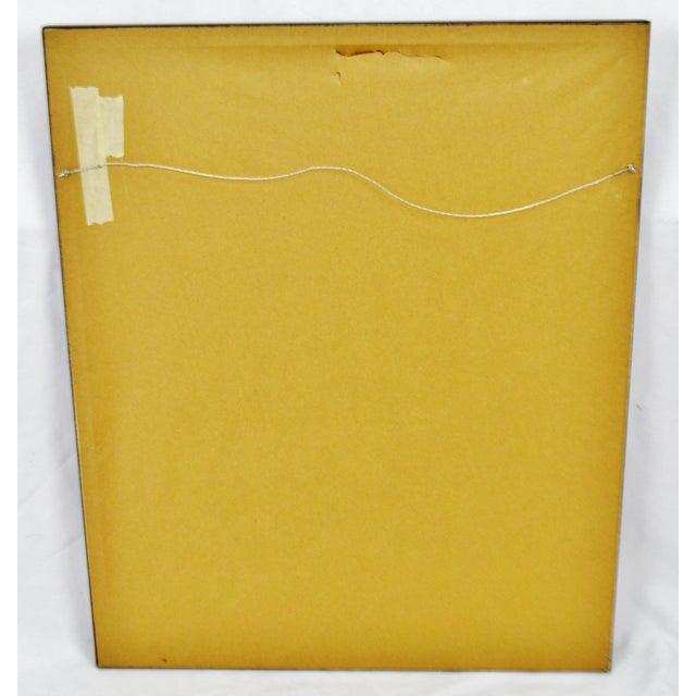 Vintage Signed Barbara Higgins Bond Sunday Brunch Limited Edition Textured Lithograph For Sale - Image 11 of 13