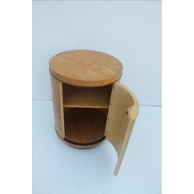 1970s Milo Baughman Burl Wood Side Table - Image 5 of 8