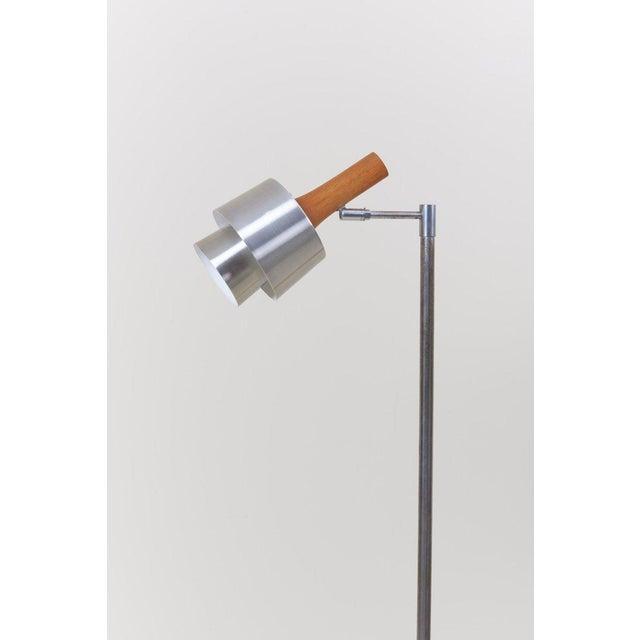 Mid-Century Modern Standard/ Reading Lamp by Jo Hammerborg for Fog & Mørup For Sale - Image 3 of 11