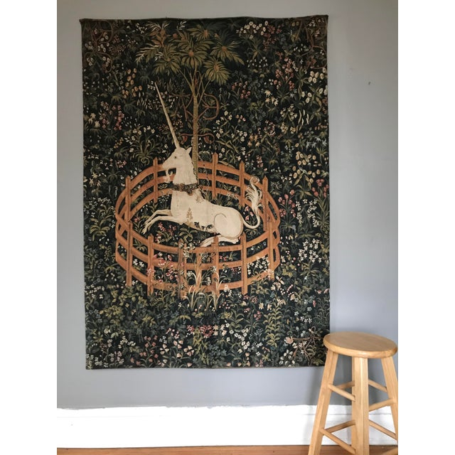 1970s Vintage Jp Paris Panneaux Gobelins Tapestry For Sale In Chicago - Image 6 of 10