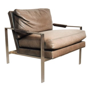 Mid-Century Modern Lounge Chair by Milo Baughman for Thayer Coggin For Sale