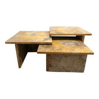 Vintage Nesting Table-Set of 3 For Sale