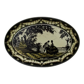 Victorian Style Tole Tray For Sale