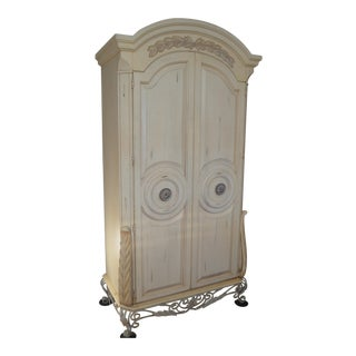 Country French Bedroom Armoire For Sale
