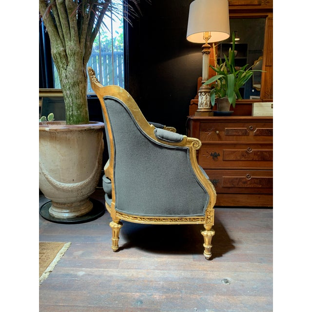 Baroque 1900s Baroque Tufted Chair For Sale - Image 3 of 8