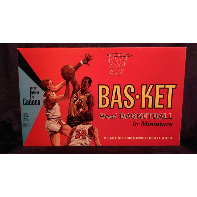 1966 Cadaco Bas-Ket Basketball Board Game - Image 2 of 11