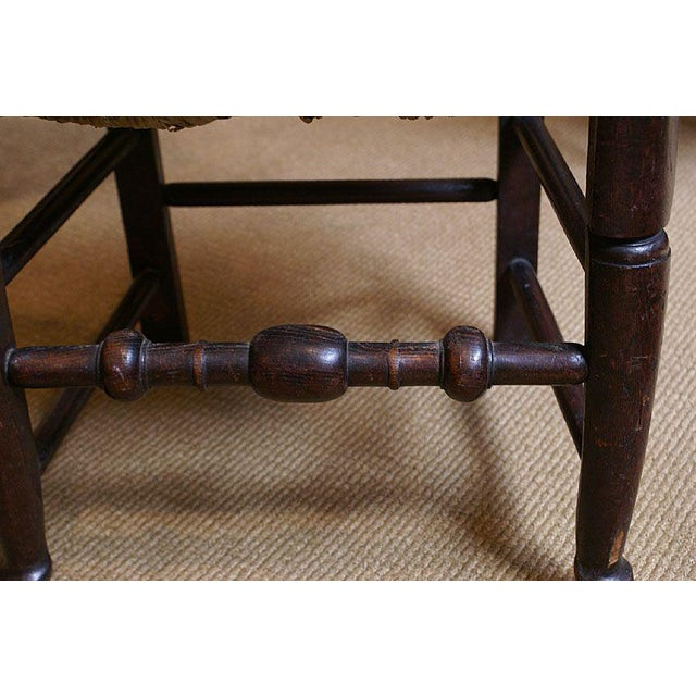 Mid 18th Century 18th Century English Oak Chair For Sale - Image 5 of 7