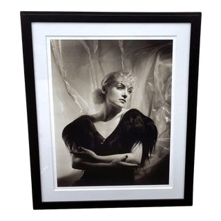 Vintage 2000 George Hurrell Carole Lombard Digital Photograph From 1934 Restored Negative For Sale