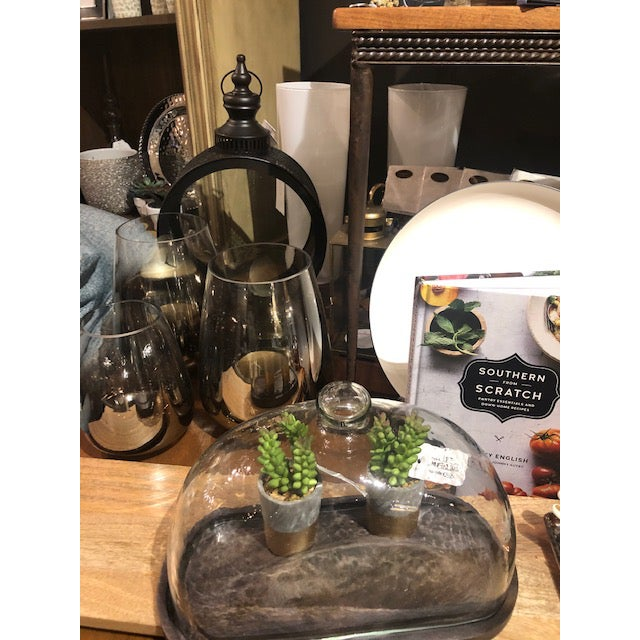 """Multifunctional sleek and stylish vase or candle holder to add style to any room. Pair it with the larger 7.25"""" and create..."""