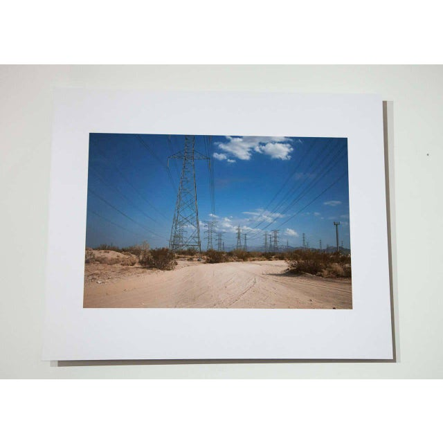 "Modern Kipp Wettstein Field Notes ""US / Mexico Border, Number 2,"" 2014 For Sale - Image 3 of 3"
