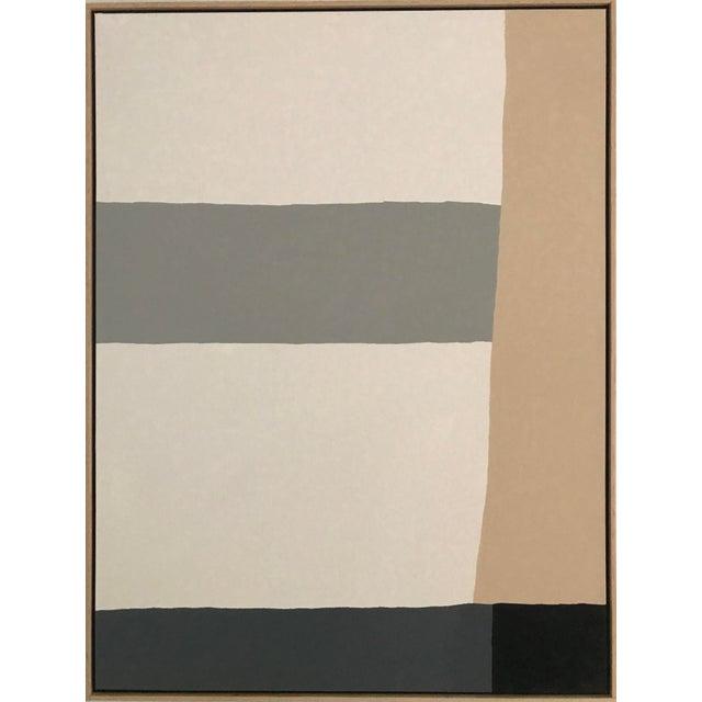 """Neutral Horizon"" Jason Trotter Original Painting - Image 2 of 5"