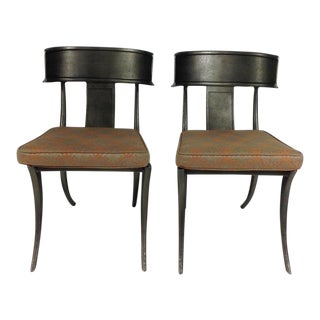 Michael Taylor Outdoor Metal Chairs