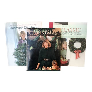 Vintage Martha Stewart Holiday Books - Set of 3 For Sale