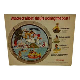"""1970 Vintage Movie Poster of """"Boatniks"""" For Sale"""