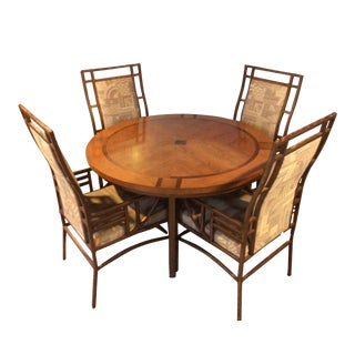Robert Sonneman Urban Primitive Dining Set